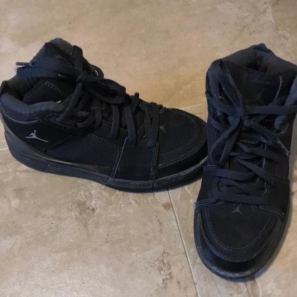 Kids Black Air Jordan